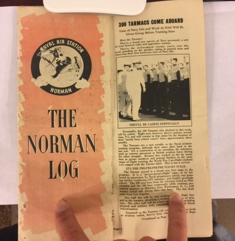 NAS NORMAN, Oklahoma 'LOG'