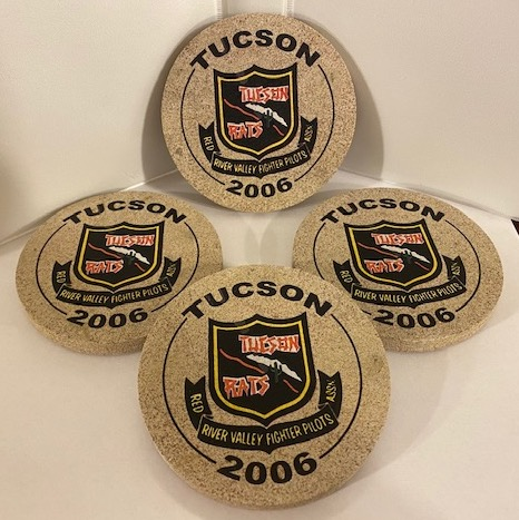 2006 TUCSON Reunion Coasters (Set of 4)