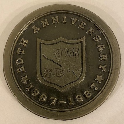 RRVA 20th Anniv Paperweight