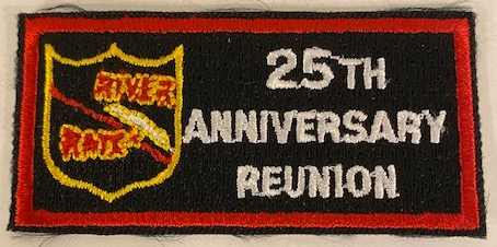RRVA 25th Anniv Sleeve Patch