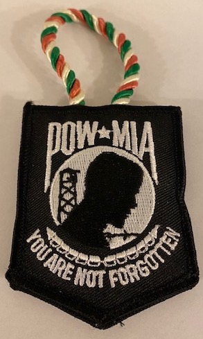 POW/MIA Christmas Ornament (1)