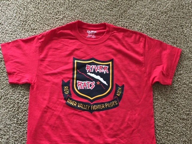 RRVA 'OLD STYLE' T-shirt (Red)