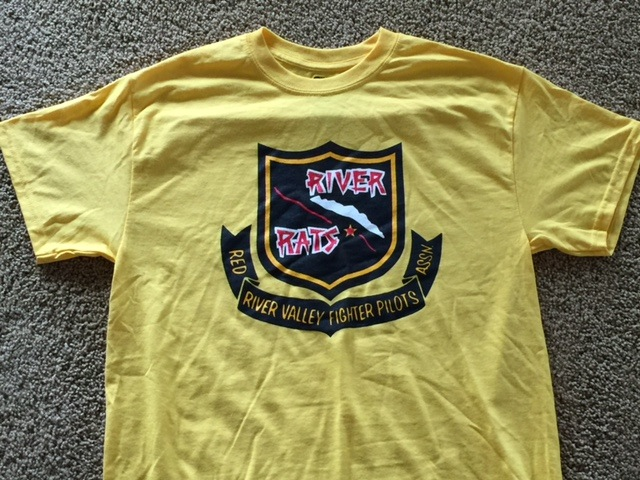 RRVA 'OLD STYLE' T-shirt (Yellow)