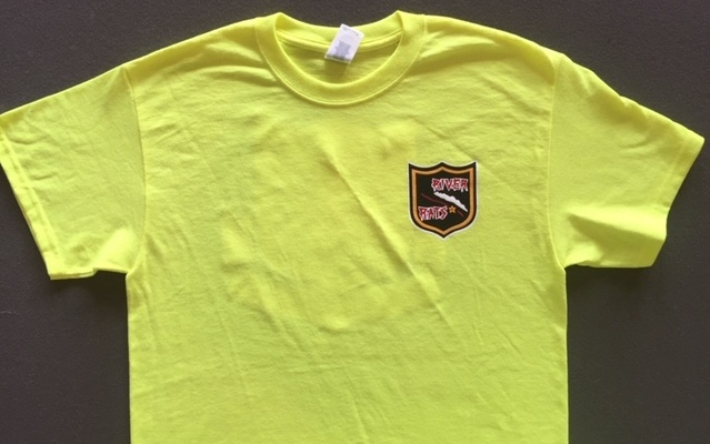 RRVA 'NEW STYLE' T-shirt (NEON/Front)