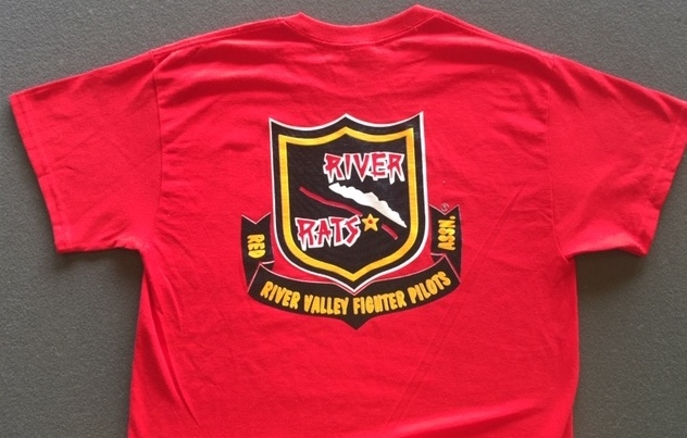 RRVA 'NEW STYLE' T-shirt (Red/Back)
