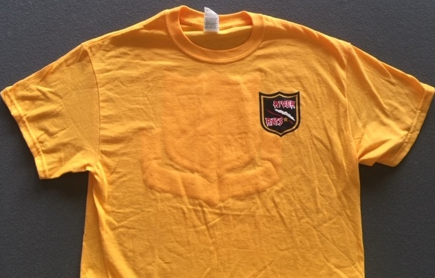 RRVA 'NEW STYLE' T-shirt (Yellow/Front)