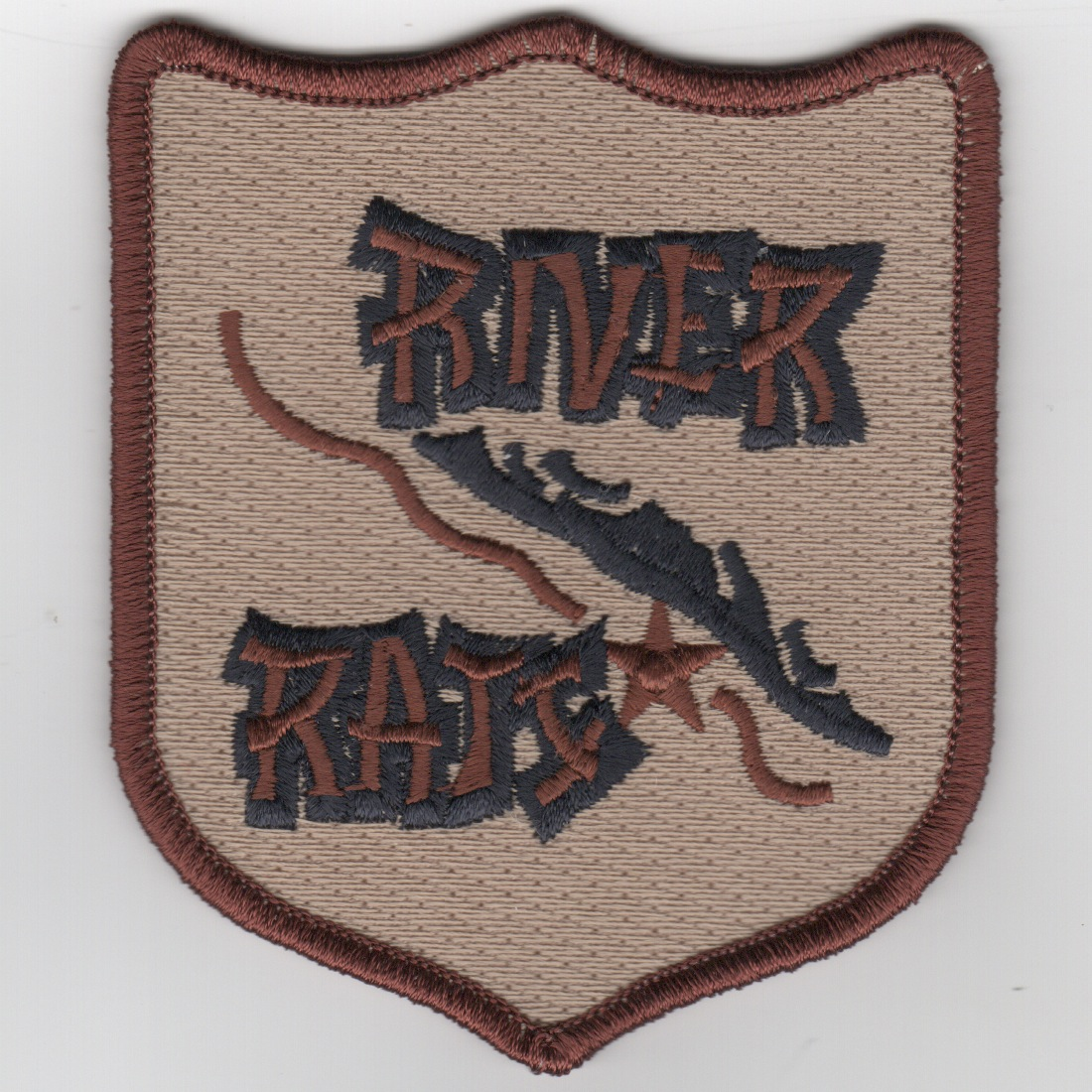 RRVA Patch (Lrg/Des/No Velcro)