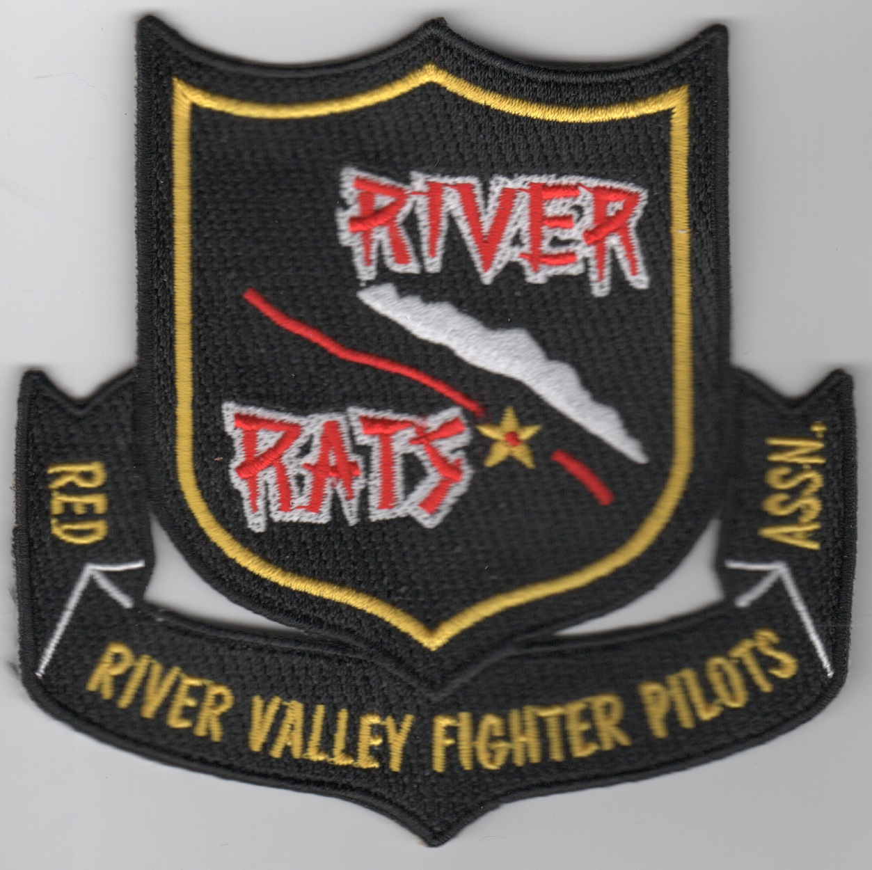 RRVA Patch (Scroll/No VELCRO)