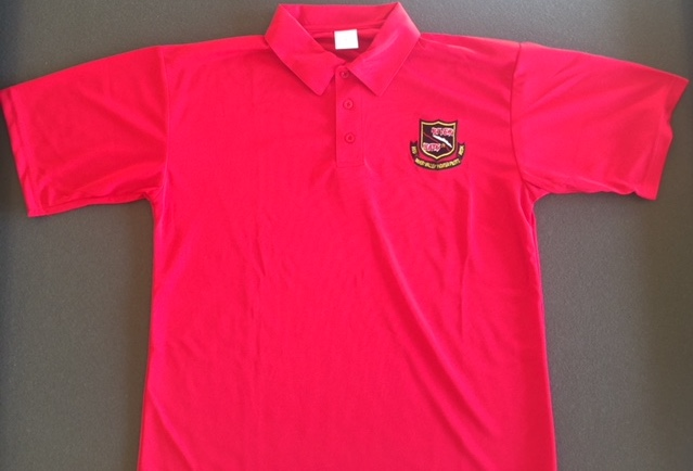 RRVA 'RED' Polo shirt