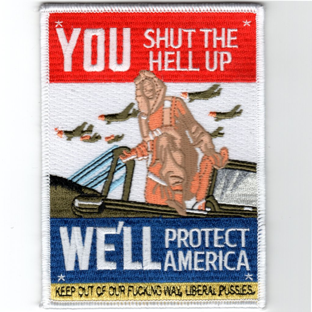 'YOU SHUT THE HELL UP' Patch
