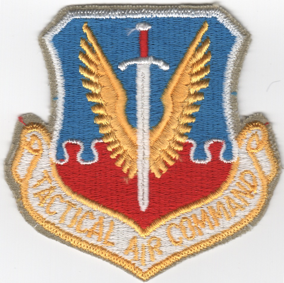 Tactical Air Command Crest (Original)