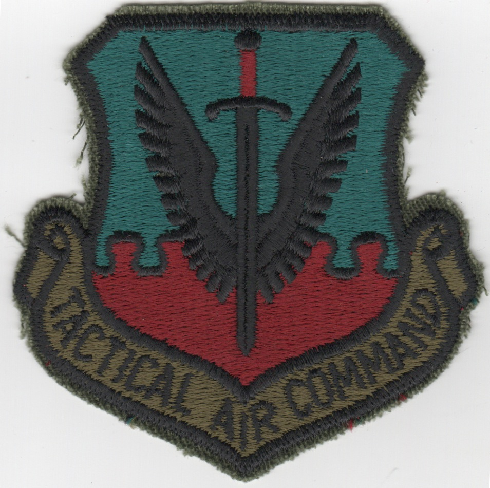 Tactical Air Command Crest (Original/Subd)