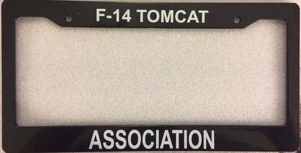 Tomcat Association License Plate Holder