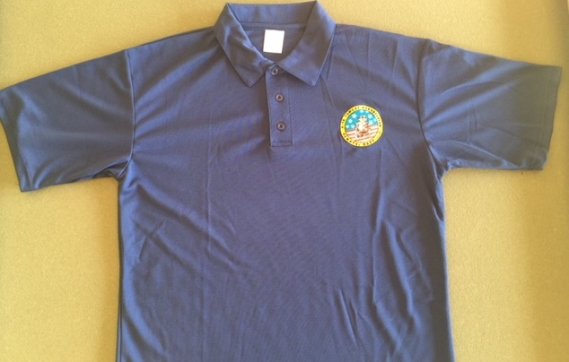 Tomcat Association Polo Shirt (Dk. Blue)