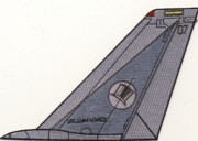 VF-14 F-14 Tomcat Tail Fin (All Gray)