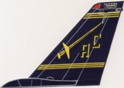 VF-32 F-14 Tomcat Tail Fin (Dark Blue)
