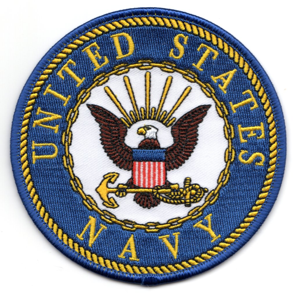 US NAVY Patch (Blue/White)