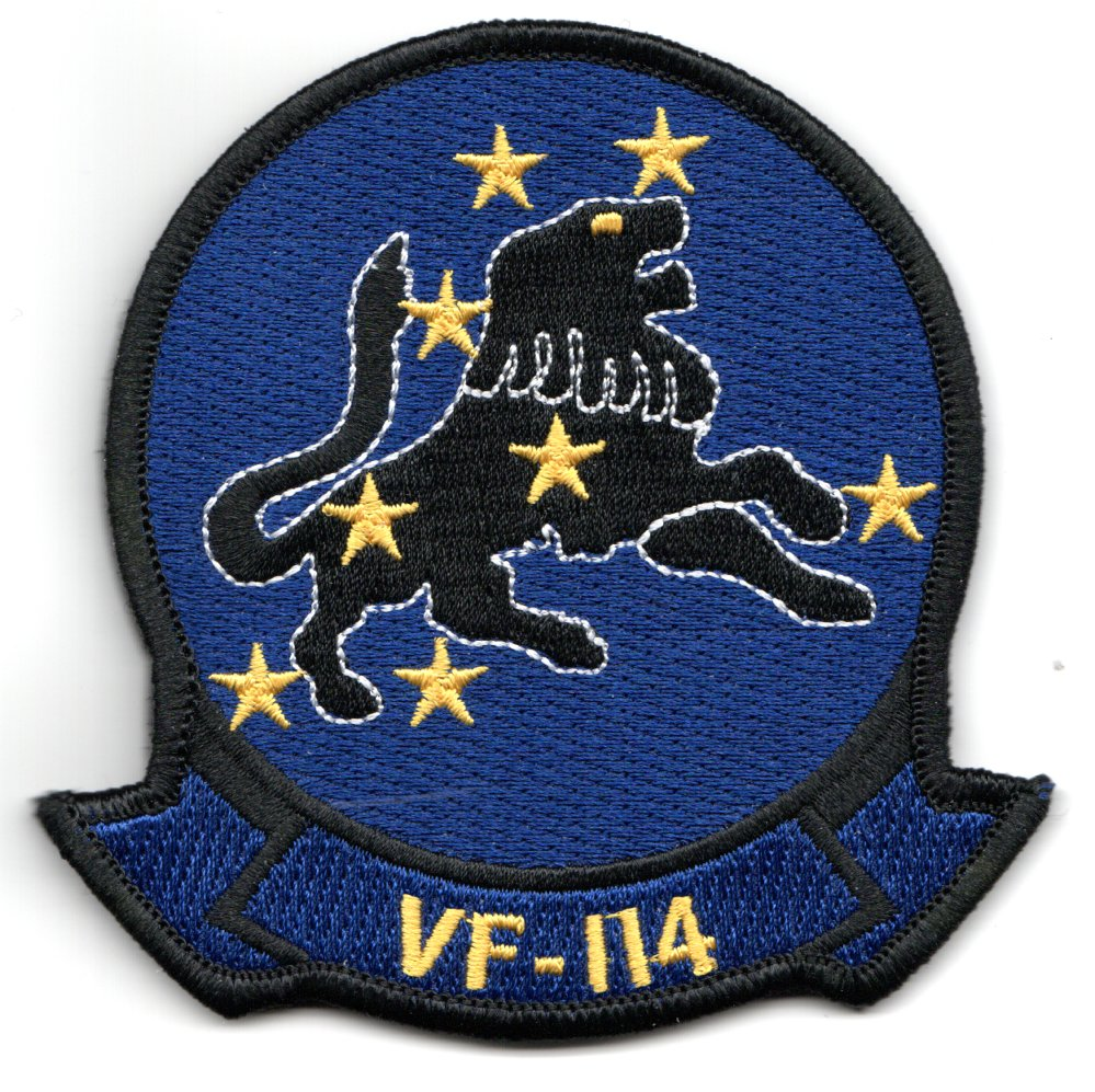 VF-114 Squadron Patch (Blue)