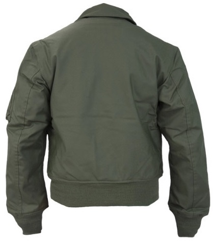 TOPGUN (2020): 'CWU-36P Green NOMEX Jacket (w/Patches)