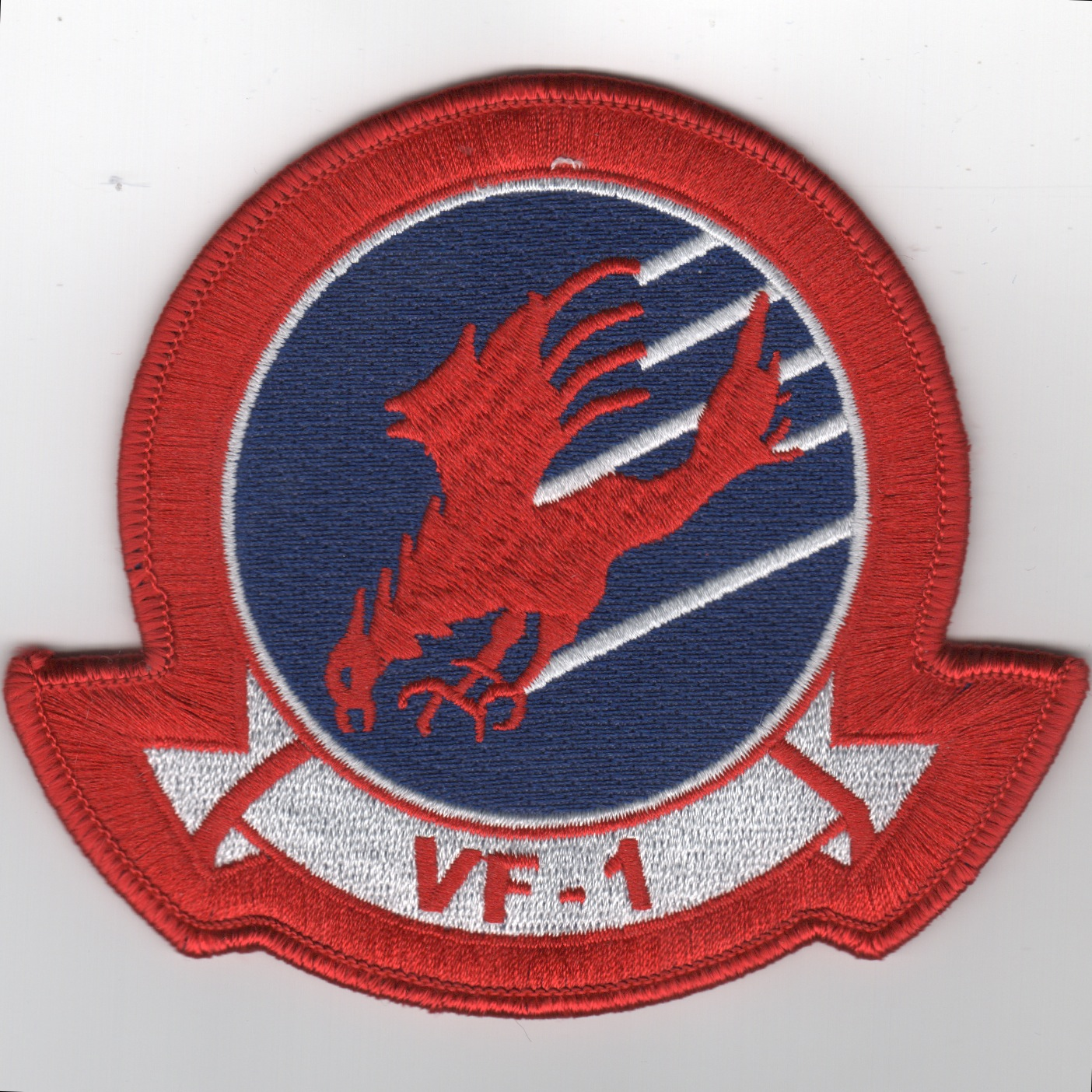 TOPGUN: VF-1 Squadron Patch (No Velcro)