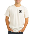 T-SHIRT: 'NATURAL' w/Front Left logo (4 in.)
