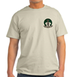 T-SHIRT: 'SAND' w/Front Left logo (4 in.)