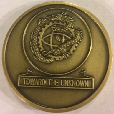 U-2 DRAGON LADY 'Challenge' Coin (Back)