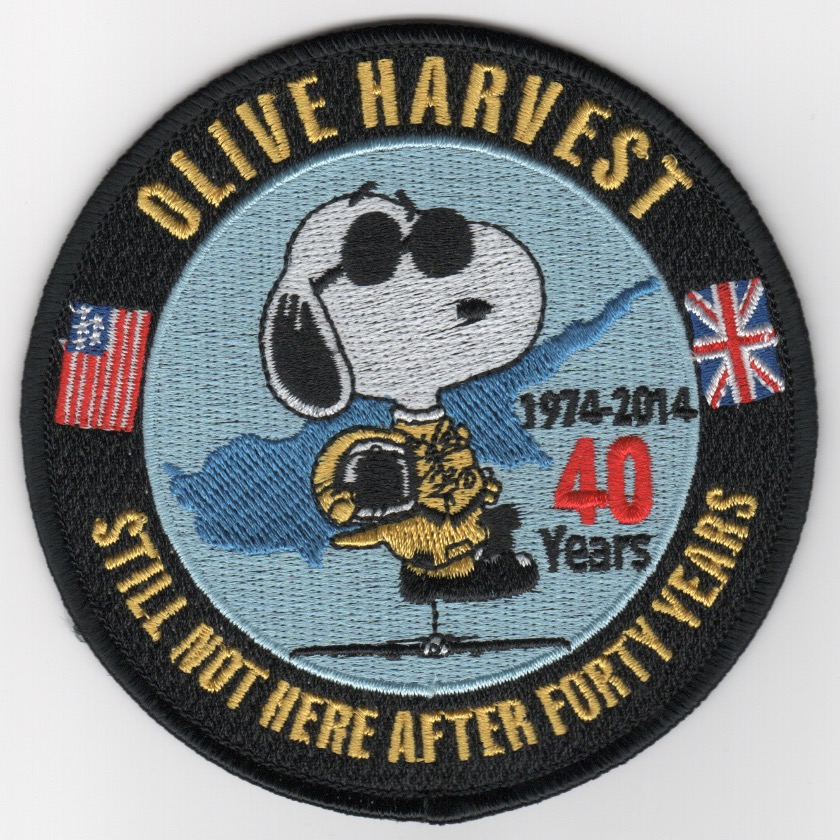 U-2 'Olive Harvest' Patch (Merrowed)