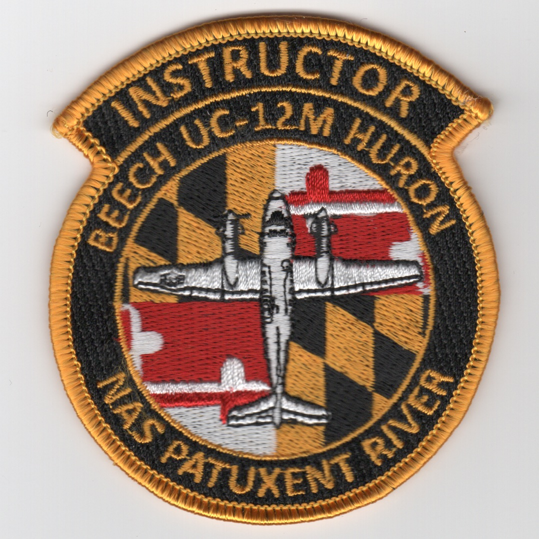 UC-12M Huron Instructor Patch