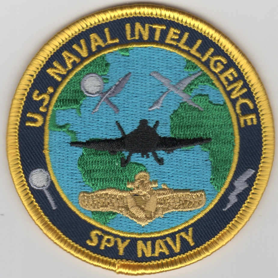 US Naval Intel 'SPY NAVY' Patch