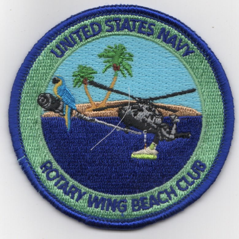 USN Rotary Wing 'Beach Club' Bullet
