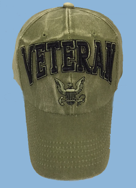 US Navy VETERAN Ballcap (Subd)