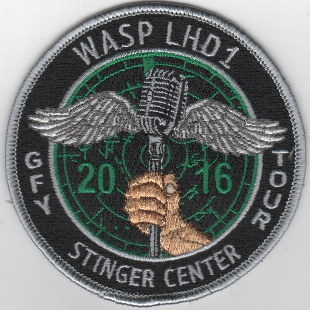 USS WASP 'GFY - Stinger Center' Tour