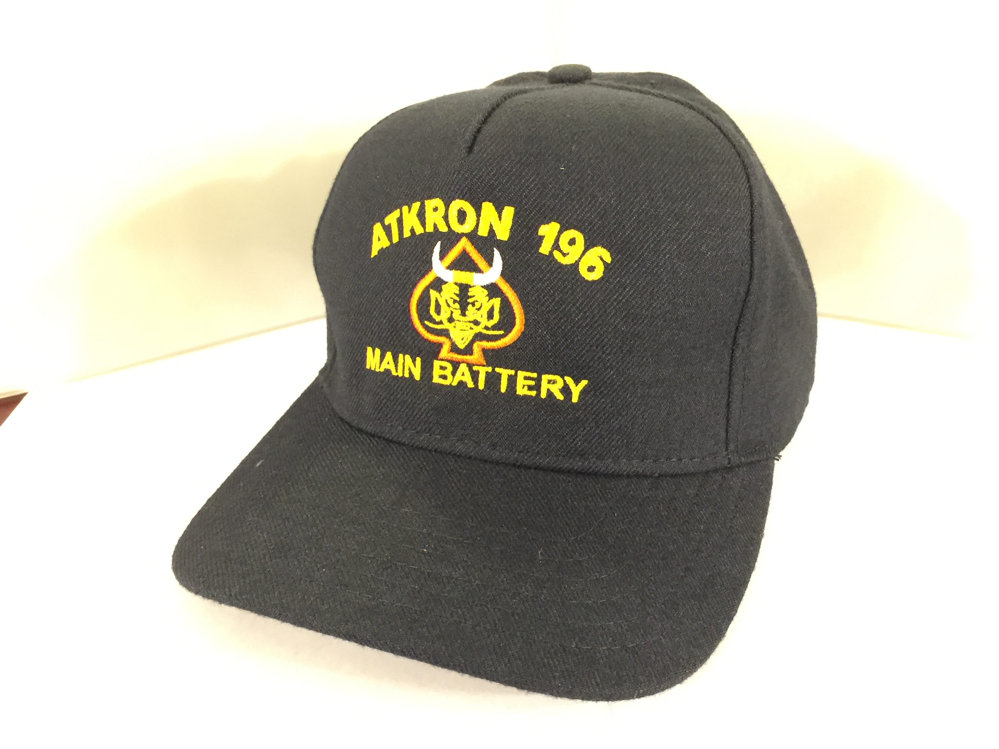 ATKRON-196 (Direct embroidery-Dark Blue)