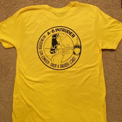 VA-75 'Ask Wife' T (Back/Yellow)