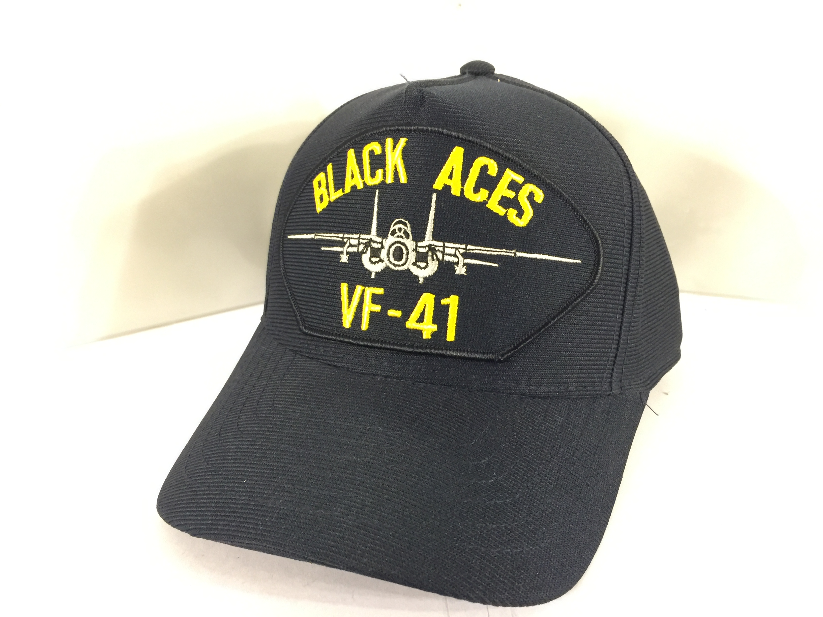VF-41/F-14 Ballcap (Dark Blue on Patch)