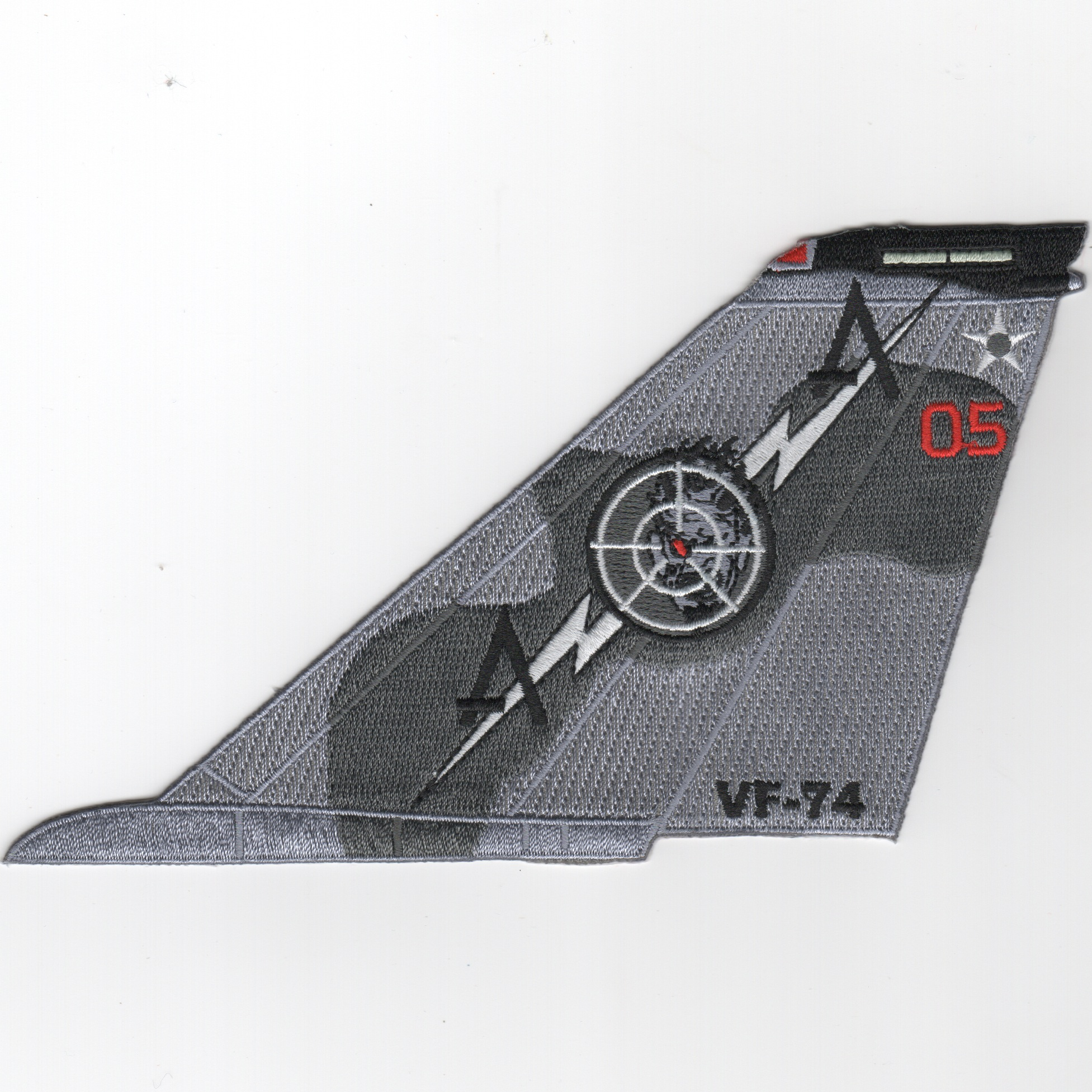 VF-74 F-14 Tomcat TailFin (No Text/Gray/05)