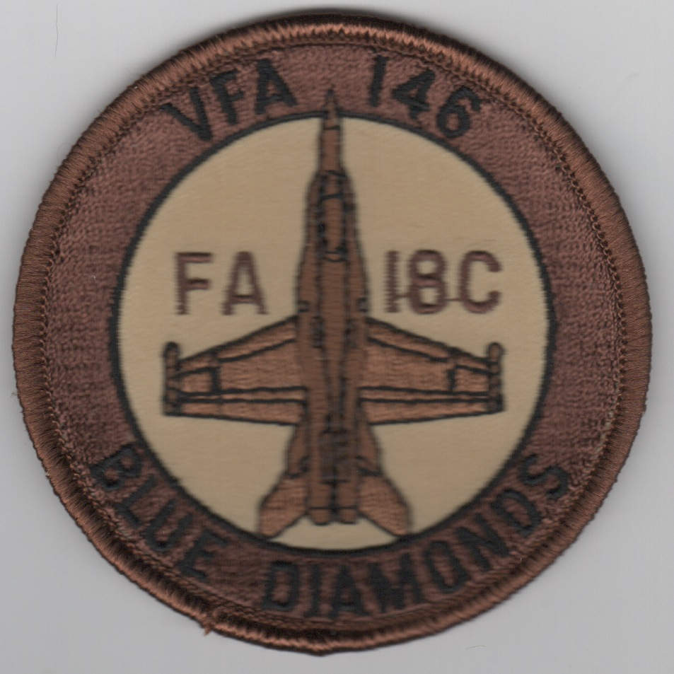 VFA-146 F-18C Bullet (Brown/Tan)