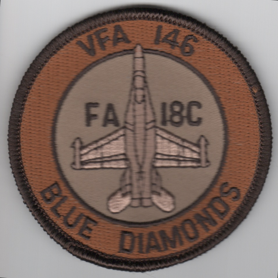 VFA-146 F-18C Bullet (Lite Brown/Tan)