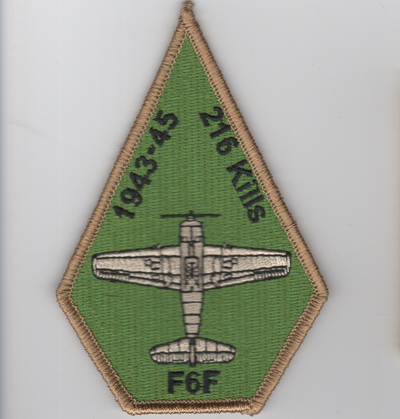 VF/VFA-2 'F6F 216 Kills' Coffin Patch