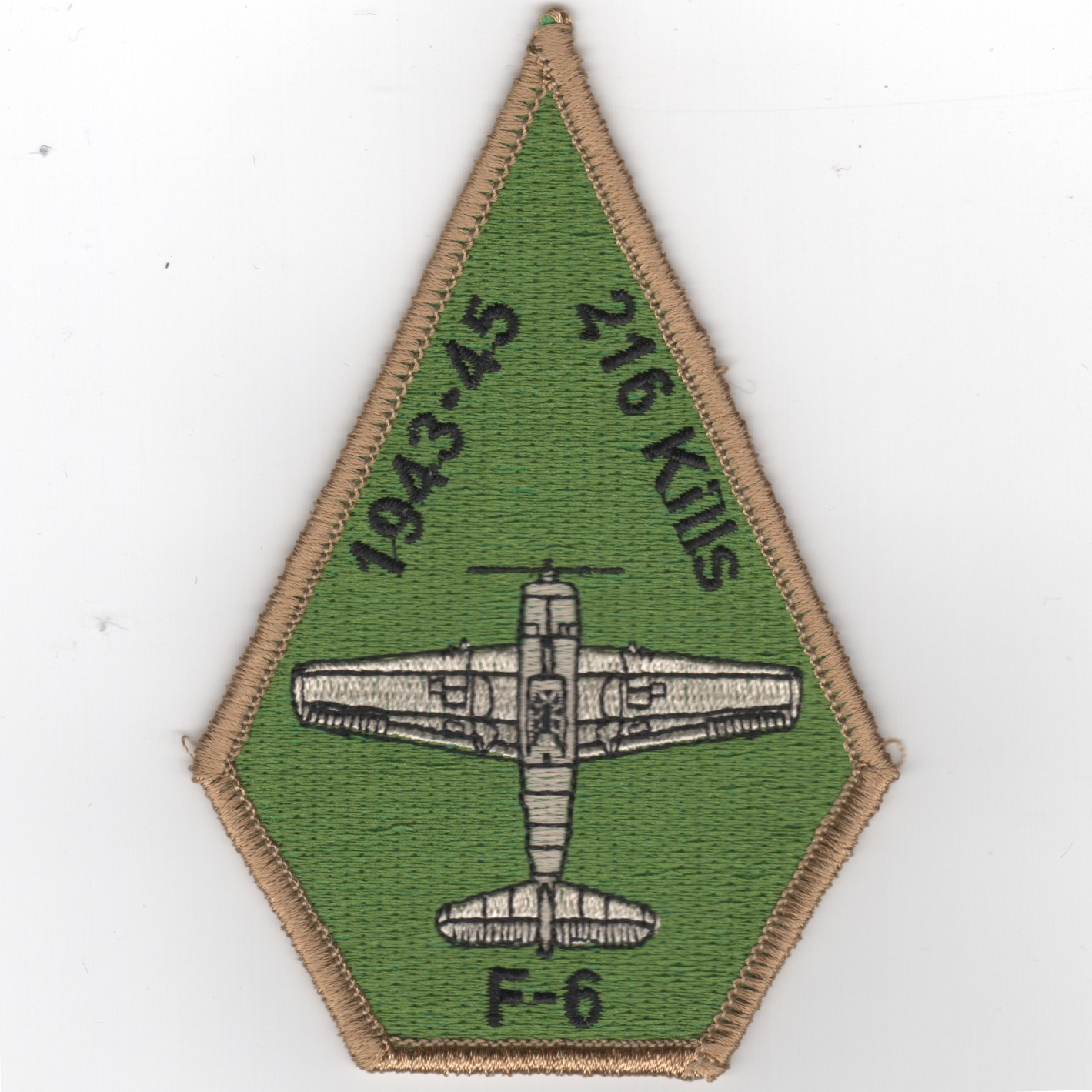 VFA-2 'F6 216 Kills' Coffin Patch