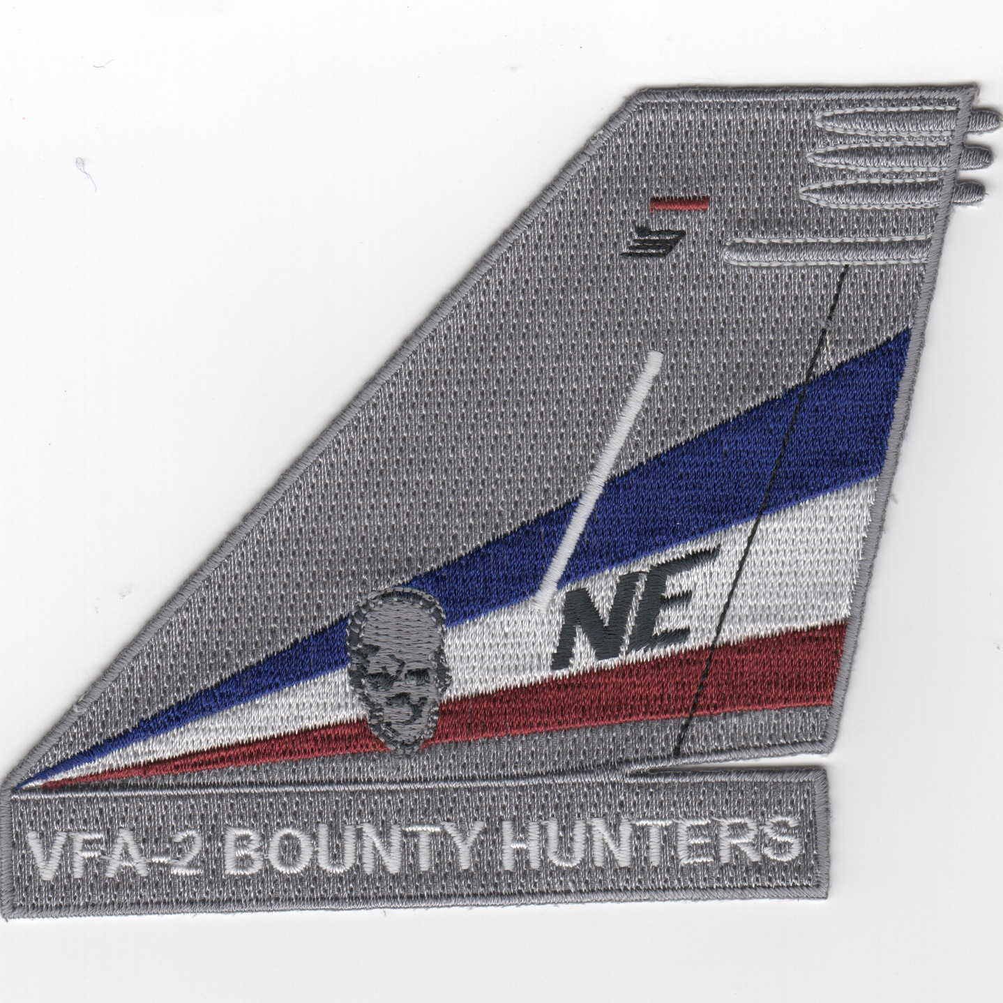 VFA-2 TailFin (Gray/White Letters)