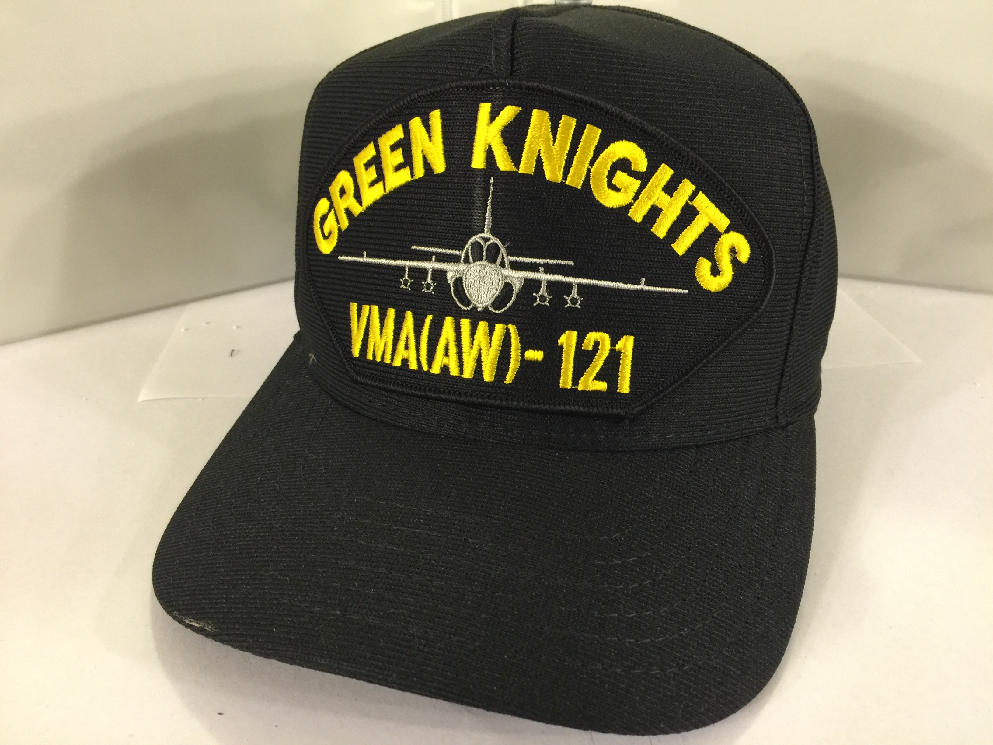 USMC VMA(AW)-121 GREEN KNIGHTS Ballcap (Black)
