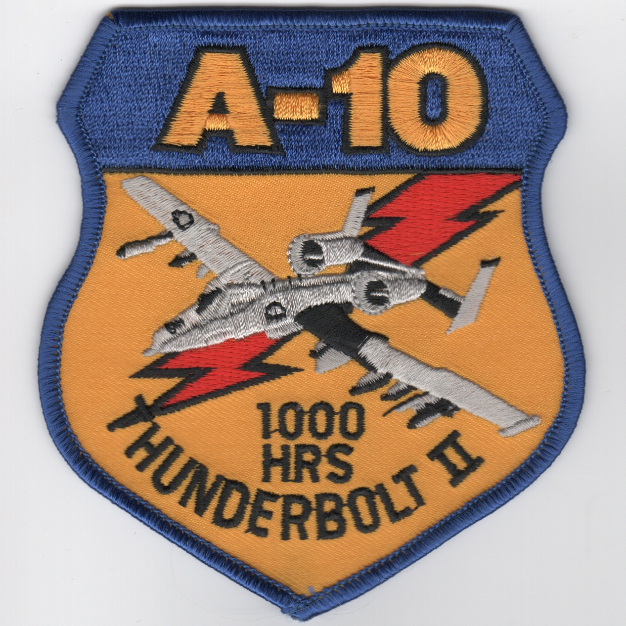 A-10 1000 Hours (Gray A/C)