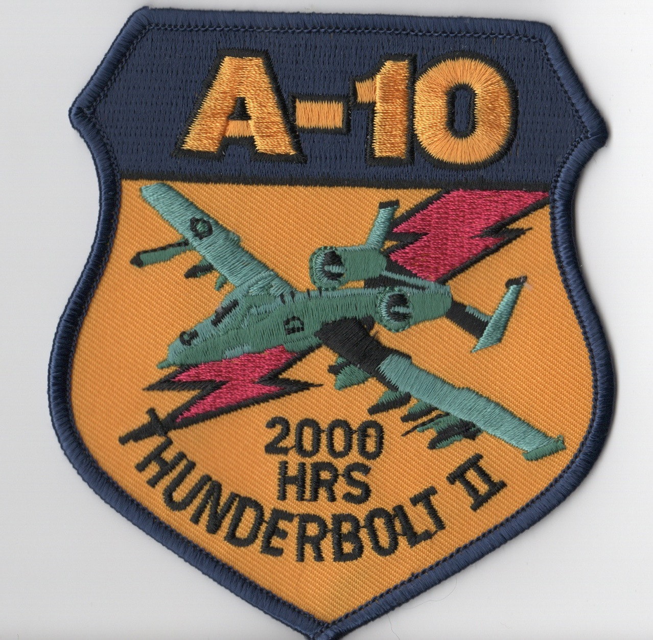A-10 2000 Hours (Green A/C)