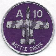 172FS Battle Creek Aircraft Patch