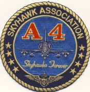 A-4 Skyhawk Association Patch