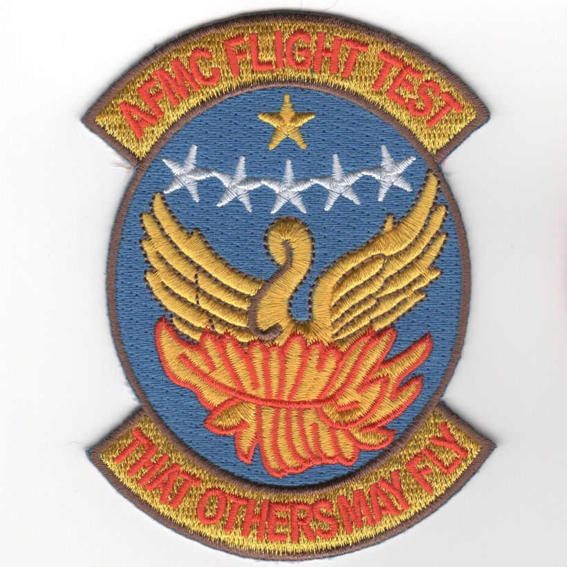 USAF Materiel Command Flight Test Patch (Lt Blue)
