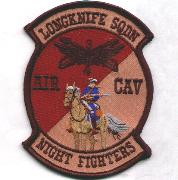 Air Cavalry 'Longknife' Patch (Des)