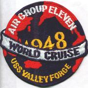 Air Group 11 1948 Cruise Patch